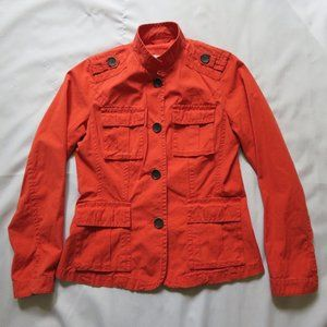 Eddie Bauer Medium Cotton Orange Coral Lightweight